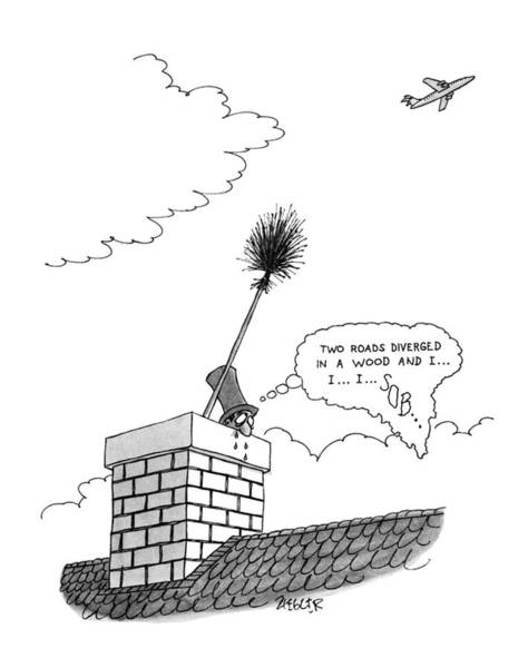 Wall Art - Drawing - New Yorker July 9th, 1979 by Jack Ziegler