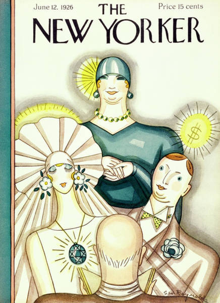 Magazine Cover Painting - New Yorker June 12 1926 by Stanley W. Reynolds