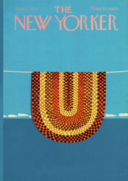 Nautical Painting - New Yorker June 12th, 1971 by Charles E Martin