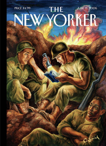 Military Painting - New Yorker June 12th, 2006 by Owen Smith