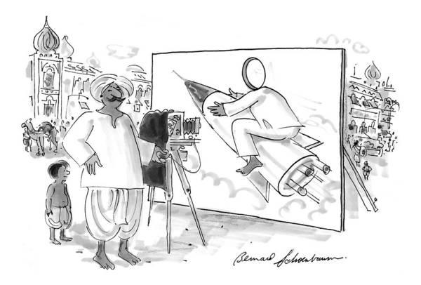 Recent Photograph - New Yorker June 15th, 1998 by Bernard Schoenbaum