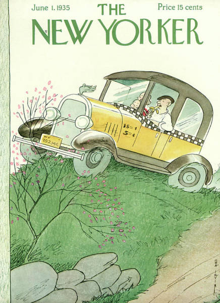 June 1st Painting - New Yorker June 1st, 1935 by Rea Irvin
