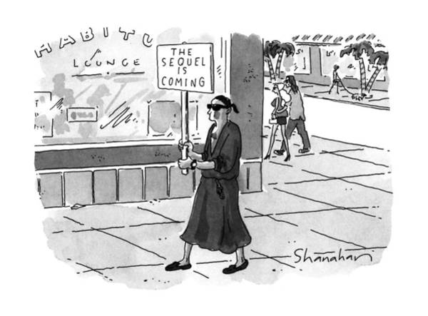 June 24th Drawing - New Yorker June 24th, 1996 by Danny Shanahan