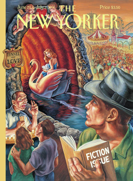 June 24th Painting - New Yorker June 24th, 1996 by Owen Smith