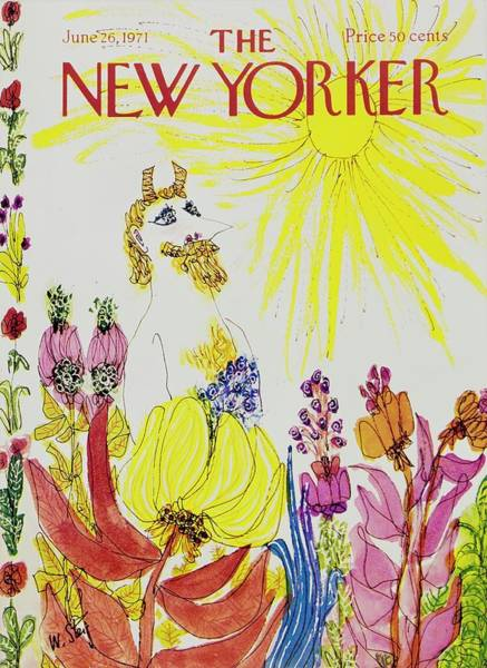 1971 Painting - New Yorker June 26th 1971 by William Steig