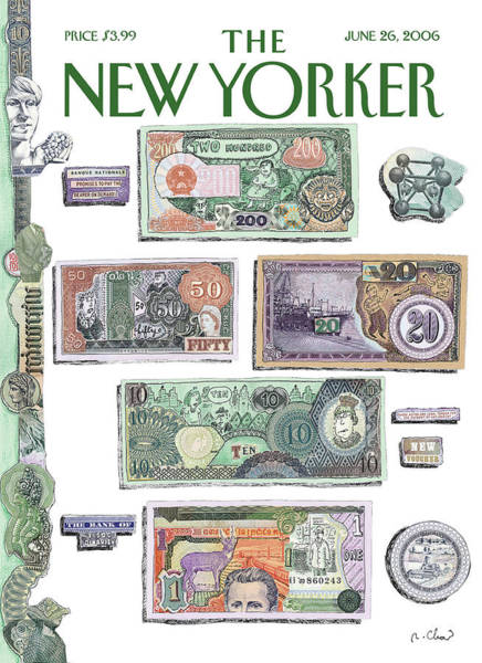 Money Painting - New Yorker June 26th, 2006 by Roz Chast
