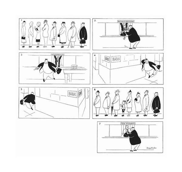Mugging Drawing - New Yorker June 29th, 1940 by M. K. Barlow