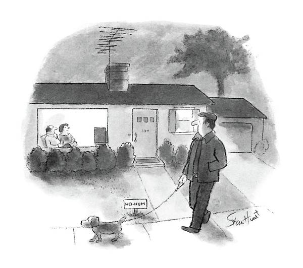 T.v Drawing - New Yorker June 30th, 1986 by Stan Hunt