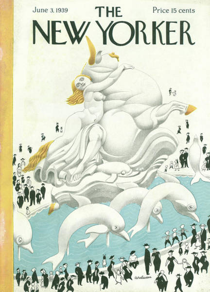 Magazine Cover Painting - New Yorker June 3 1939 by Christina Malman