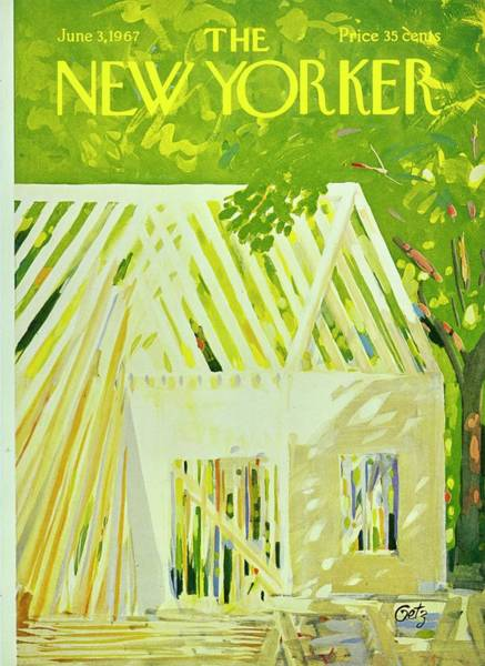 Painting - New Yorker June 3rd 1967 by Arthur Getz