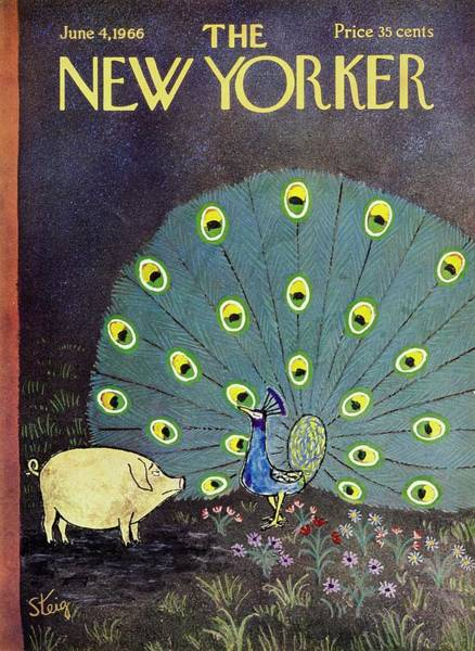 Wall Art - Painting - New Yorker June 4th 1966 by William Steig