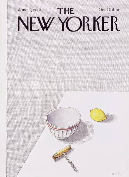 Wall Art - Painting - New Yorker June 4th 1979 by Pierre Le-Tan