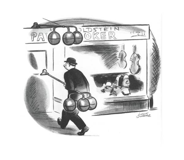 June 8th Drawing - New Yorker June 8th, 1940 by Louis Jamme