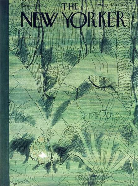 Wall Art - Painting - New Yorker February 10 1945 by Roger Duvoisin
