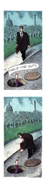 March 14th Drawing - New Yorker March 14th, 1994 by John O'Brien