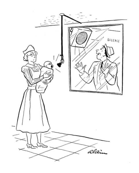 Newborn Drawing - New Yorker March 15th, 1941 by  Alain