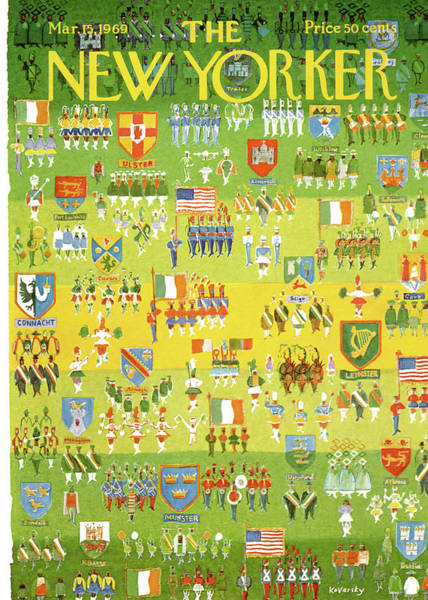 1969 Painting - New Yorker March 15th, 1969 by Anatol Kovarsky