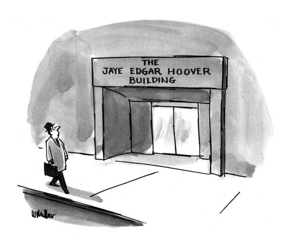 1993 Drawing - New Yorker March 15th, 1993 by Warren Miller
