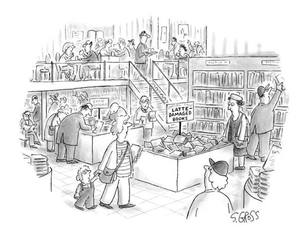 Wall Art - Drawing - New Yorker March 15th, 1999 by Sam Gross