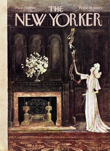 Wall Art - Painting - New Yorker March 19th 1966 by Mary Petty