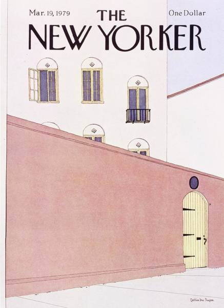 Nobody Painting - New Yorker March 19th 1979 by Gretchen Dow Simpson
