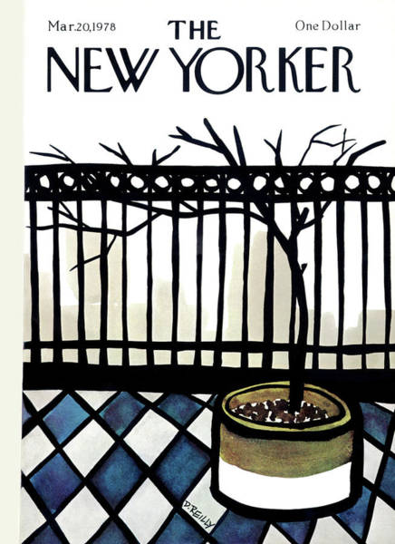 Donald Painting - New Yorker March 20th, 1978 by Donald Reilly