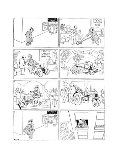 Mower Drawing - New Yorker March 22nd, 1941 by Alfred Frueh