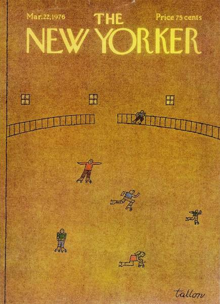 1976 Painting - New Yorker March 22nd 1976 by Robert Tallon