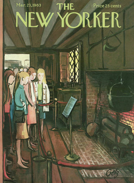 New Yorker March 23rd, 1963 Art Print