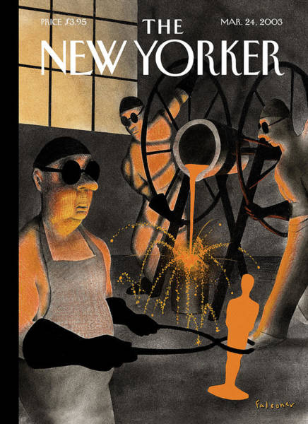 Wall Art - Painting - New Yorker March 24th, 2003 by Ian Falconer