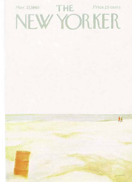 Nautical Painting - New Yorker March 27th, 1965 by James Stevenson
