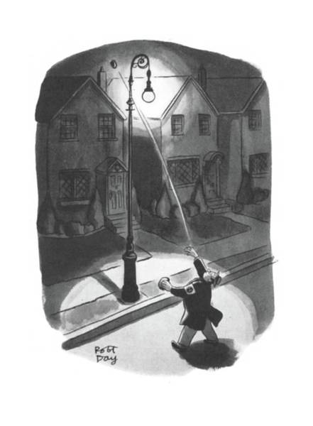 Target Drawing - New Yorker March 28th, 1942 by Robert J. Day