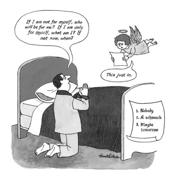 3 Drawing - New Yorker March 29th, 1999 by J.B. Handelsman