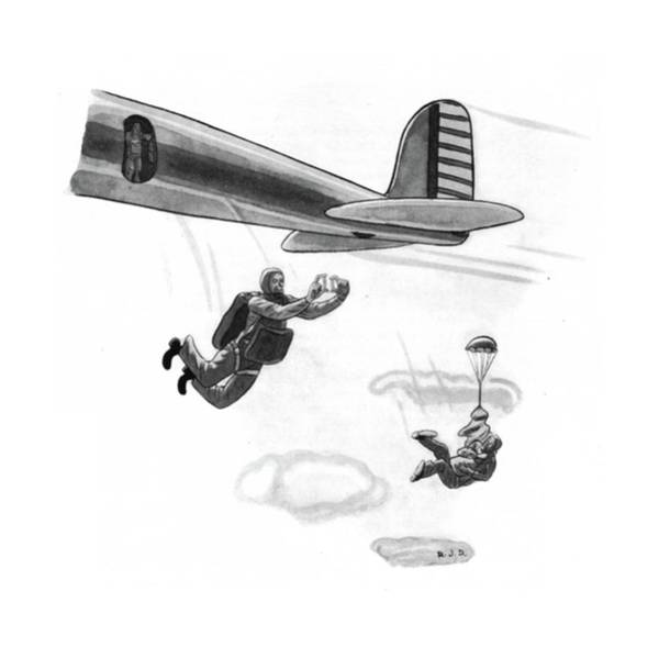 Pilots Drawing - New Yorker March 8th, 1941 by Robert J. Day
