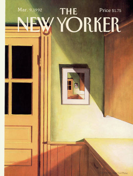 Wall Painting - New Yorker March 9th, 1992 by Gretchen Dow Simpson