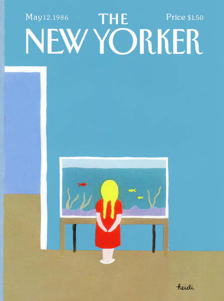 Hobbies Painting - New Yorker May 12th, 1986 by Heidi Goennel