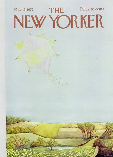 Wall Art - Painting - New Yorker May 13th 1972 by Ilonka Karasz