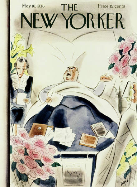 Humor Painting - New Yorker May 16 1936 by Leonard Dove