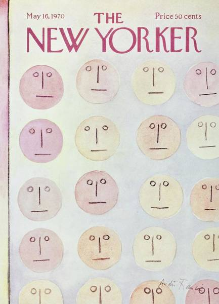 Drawing Painting - New Yorker May 16th 1970 by Andre Francois