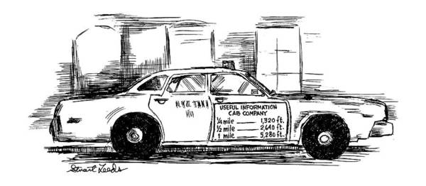 4 4 2 Drawing - New Yorker May 17th, 1999 by Stuart Leeds