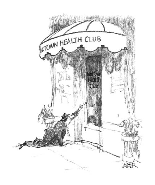 Exhaust Wall Art - Drawing - New Yorker May 18th, 1987 by Robert Weber