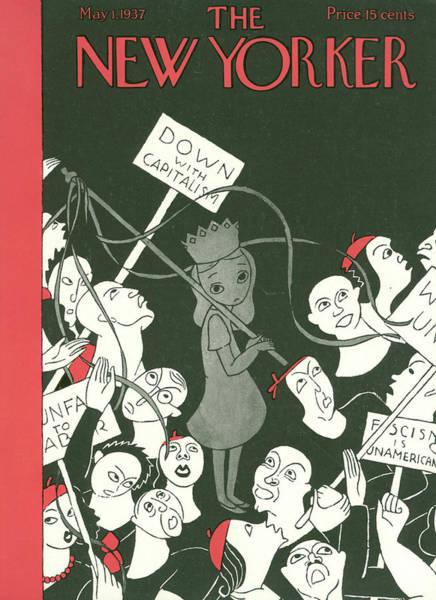 Politics Painting - New Yorker May 1st, 1937 by Christina Malman