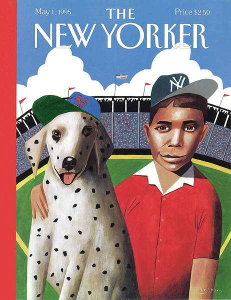 Pet Painting - New Yorker May 1st, 1995 by Mark Ulriksen
