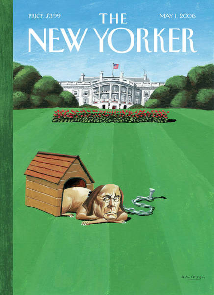 Donald Painting - New Yorker May 1st, 2006 by Mark Ulriksen