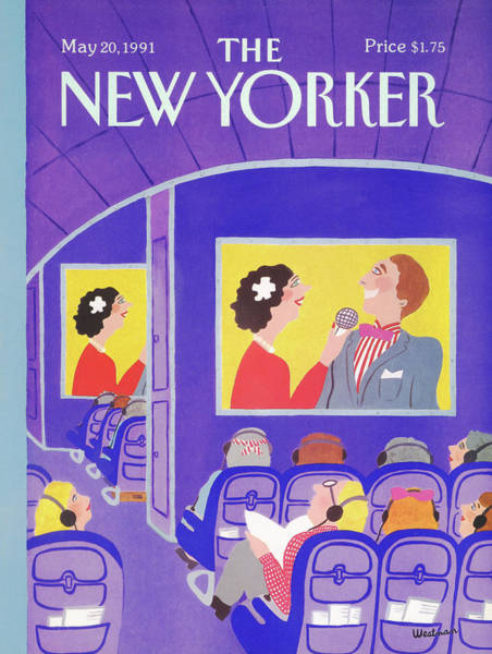 Entertainment Painting - New Yorker May 20th, 1991 by Barbara Westman