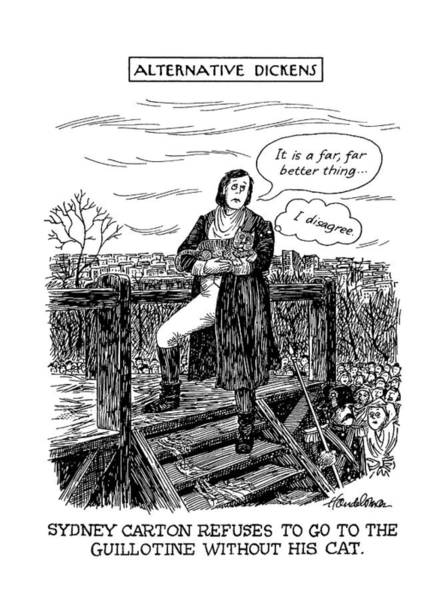 Saying Drawing - New Yorker May 20th, 1991 by J.B. Handelsman