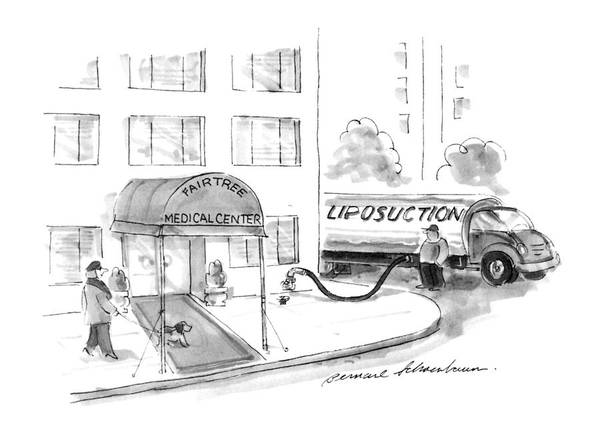 Wasted Drawing - New Yorker May 20th, 1996 by Bernard Schoenbaum