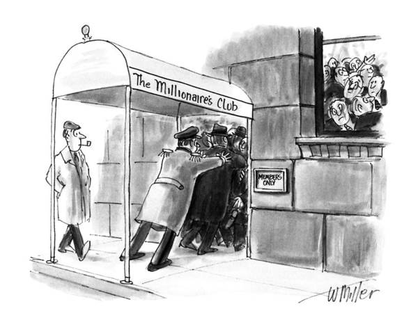 Childishness Drawing - New Yorker May 21st, 1990 by Warren Miller