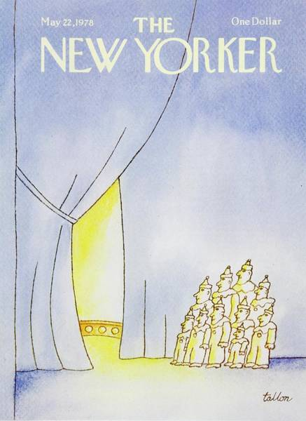 Performer Painting - New Yorker May 22nd 1978 by Robert Tallon