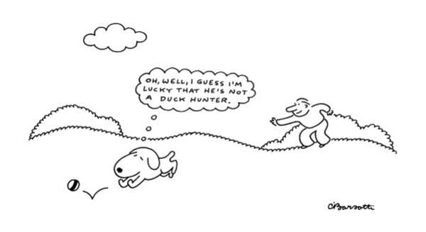 May 23rd Drawing - New Yorker May 23rd, 1988 by Charles Barsotti